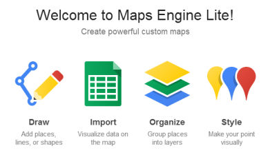 Google startet Maps Engine Lite